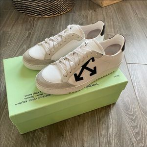 Off-White Carryover Sneaker in White & Black